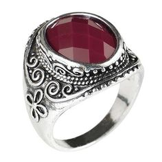 2$  Watch now - http://dib6i.justgood.pw/go.php?t=199242503 - Faux Gem Embellished Retro Ring