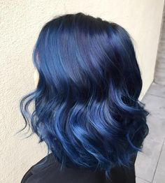 cool 25 Fabulous Dark Blue Hair Ideas - Using Your Hair to Brighten Your Looks