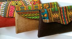 African Fashion, African Clutches, African handbags, Dashiki designs, Dashiki clutches, Evening bags, by TinasonlineBoutique on Etsy