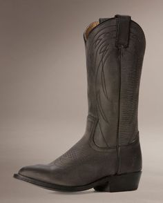 A beautiful charcoal leather pull on boot, wearable year-round! | http://www.countryoutfitter.com/products/32585-womens-old-town-billy-pull-on-boot-charcoal