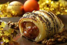 Cotechino in crosta ricetta. Ricetta qui: http://blog.giallozafferano.it/cucinaconsara/cotechino-in-crosta-ricetta/