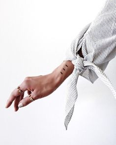 Tiny Tattoos & Thin Rings
