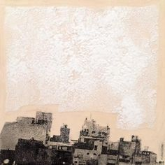 """My Work """"boro/sky"""" ink e borotalco su caolino #contemporaryart pic.twitter.com/v9KeghiLiS pic.twitter.com/KUyTqs4smz"""