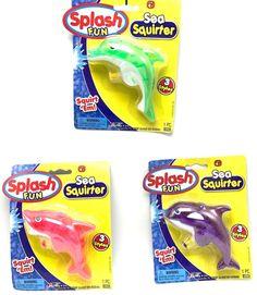 Squirt Guns Water Pistols Dolphin Children Boy Girl Water Pump Action Toys Ja-Ru #JARU