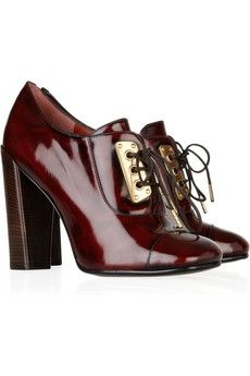 Marc by Marc Jacobs | Lace-up leather pumps | NET-A-PORTER.COM - StyleSays