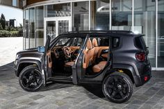 Tuner Militem has taken the wraps off its custom-built Jeep Renegade mini-SUV, dubbed 'Hero'. The smallest off-roader of the American brand features a body kit, new suspension, a re-trimmed cabin, and a performance upgrade. Auto Jeep, Jeep Cars, Jeep Jk, Jeep Renegade, My Dream Car, Dream Cars, Poses Photo, Jeep Patriot, Jeep Liberty