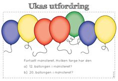 frk linn: ukas utfordring Teaching, How To Plan, Education, Maths, Children, Kids, Year 2, School Stuff, First Grade