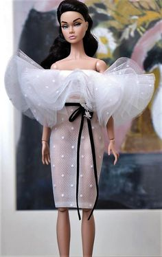 Glamour Dolls, Barbie World, Fashion Dolls, My Girl, Poppies, Nice Dresses, Doll Clothes, Strapless Dress, Summer Outfits