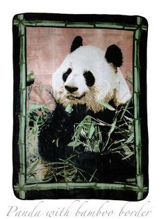 Throw - Panda Blanket