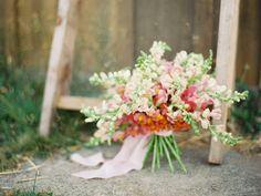 Dahlia and Snapdragon Floral Arrangements