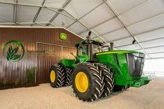 620hp John Deere 9620R from 2014 Ohio Farm Science Review What a deer