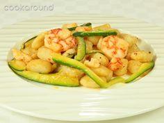 Gnocchi con gamberi e zucchine allo zenzero: Ricette di Cookaround | Cookaround