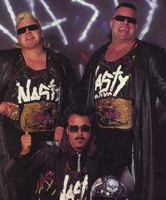 Nasty Boys -  Brian Knobs, Jerry Sags & Jimmy Hart