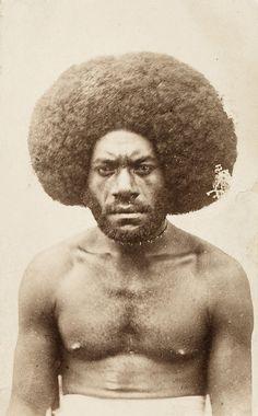 The African presence in the Fiji Islands....   Tui Namosi, Kai Colo - Tui Namosi - 19th-century