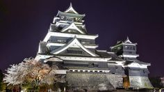 """When talking about the oldest castle in Japan, this has to be the Matsumoto Castle in the beautiful city of Matsumoto in Nagano Prefecture. According to history, they also recognize this castle as """"Crow Castle"""" (Karasu-jō) and build back in Kumamoto Castle, Wooden Castle, Japanese Castle, Nagano, Old Things, Palaces, History, City, Building"""