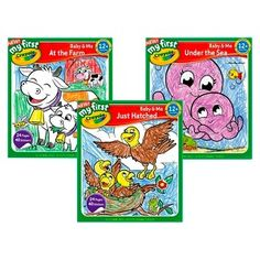 Ty My First Crayola Coloring and Sticker Books