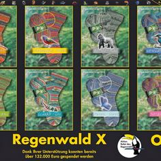 Opal Rainforest sock yarn