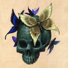 SKULLS - Jeff Soto - Kathryn (just got a print off this!)
