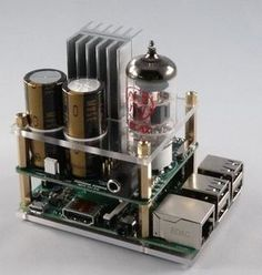Raspberry Pi goes Hi-Fi with audio valve amp | Electronics Weekly