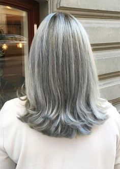 Long Gray Hairstyles Over 50 -