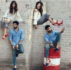 Mawra hucane and shehriyar munawar photo shoots