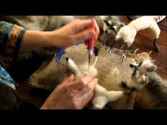 How To Needle Felt-Chipmunk Series 1: Armature, Toes, and Wrapping by Sarafina Fiber Art - YouTube
