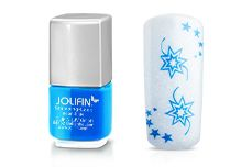 Stamping-Lack neon-blue