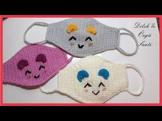 Mask Making - Knitting Mask Making for Kids part 2 Mask For Kids, Snoopy, Blanket, Crocheting, Fictional Characters, Youtube, Crochet Baby Dresses, Gift, Mascaras