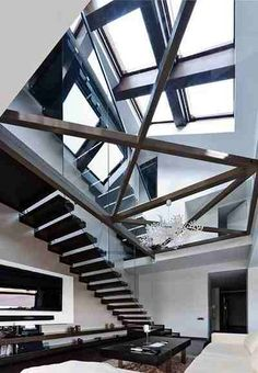 Modern design; genius; geometric interior