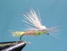 E/C Caddis. This is probably the most popular fly designed by Sierran Flyfisher, Ralph Cutter, and introduced to the public in 1981. The E/C Caddis is an emergent/cripple caddis pattern developed for the large caddis hatches that frequent the Truckee River.