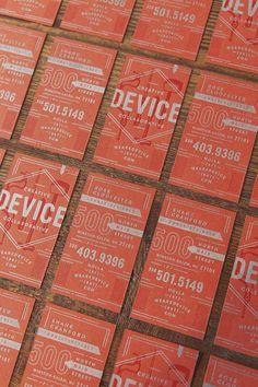 Device Creative Collaborative | via designworklife  Love the color layering: metallic on color