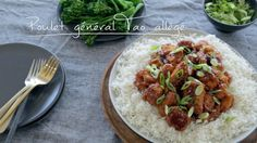Poulet général Tao allégé | Cuisine futée, parents pressés Lunch Recipes, Dinner Recipes, Cooking Recipes, Healthy Recipes, Healthy Meals For Kids, Quick Meals, Quebec, Indian Food Recipes, Asian Recipes