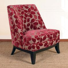 A simple chair, jazzed up with a Cool fabric.   Jester Club Chair now featured on Fab.