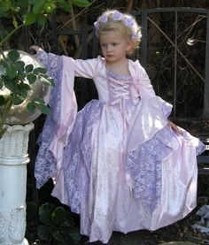Girls Gwendolyn Fantasy Fairy Medieval or by RomanticThreads, $245.00