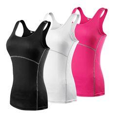 새로운 yoga 탑 여성 섹시 체육관 스포츠 조끼 피트니스 실행 꽉 여성 민소매 셔츠 빠른 건조 맞는 탱크 탑 yoga 착용 의류