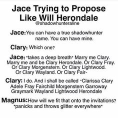 jace and will herondale meet fanfiction Alec And Jace, Clary Und Jace, Clary Fray, Shadowhunters Malec, Shadowhunters The Mortal Instruments, Clace, Up Book, Book Tv, Book Nerd