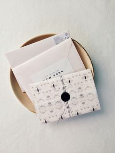 Modern Save the Dates by Gather and Co. Creative collaboration with Joy Thigpen and Eskayel.