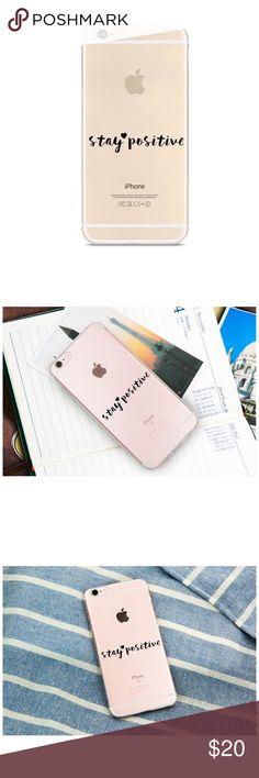 iPhone 6/6s Plus Case Super Cute & Simple Clear Case for iPhone 6/6s Plus. Accessories Phone Cases #iphone6spluscase,