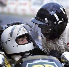 Jochen Rindt, Graham Hill