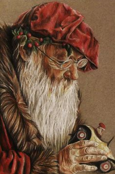 Kris Kringle  wish I could find one for my Old world Santa collection