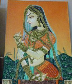 Bani thani -Rajasthani miniature painting