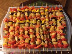 Chicken shish kebab. I made it...!!!!...Maria Ter
