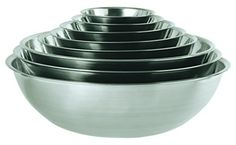 This mixing bowl is a staple of commercial and home kitchens. Commonly used for mixing sauces, marinades, salad dressings and more. Made of stainless steel with mirror finish. Bowl can be easily cleaned and is dishwasher safe for faster clean up. This is perfect for prep tasks big and small.... - http://kitchen-dining.bestselleroutlet.net/product-review-for-update-international-mb-1300-13-qt-stainless-steel-mixing-bowls/