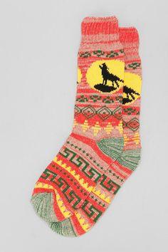 Southwest patterned camp sock #urbanoutfitters #huntedandgathered