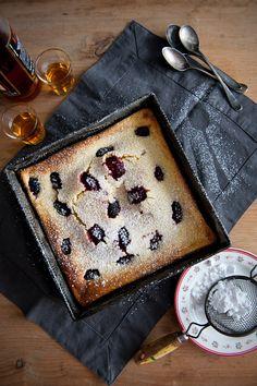 Far Breton with blackberries <3