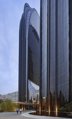 Chaoyang Park Plaza / MAD Architects / Beijing, China
