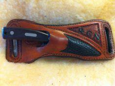 Bildergebnis für how to make a leather crossdraw knife sheath