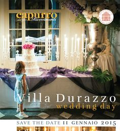 Wedding day a villa Durazzo