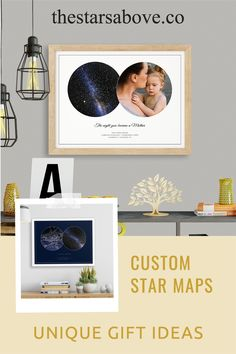 These are the perfect gifts to commemorate the most special occasions in your life. The birth of a child, a wedding or anniversary, or that first date that changed everything. #stars #night #sky Unique Mothers Day Gifts, Special Occasion, Bedroom Decor, Diy Projects, Stars, Sterne, Dorms Decor, Handyman Projects, Handmade Crafts