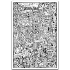 Wildergorn Color-In Posters - Watergorn - GIANT coloring poster 27 ...